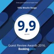 Villa Moulin Rouge: taras, jacuzzi, leżaki plażowe