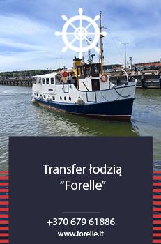 Wynajem łodzi Forelle