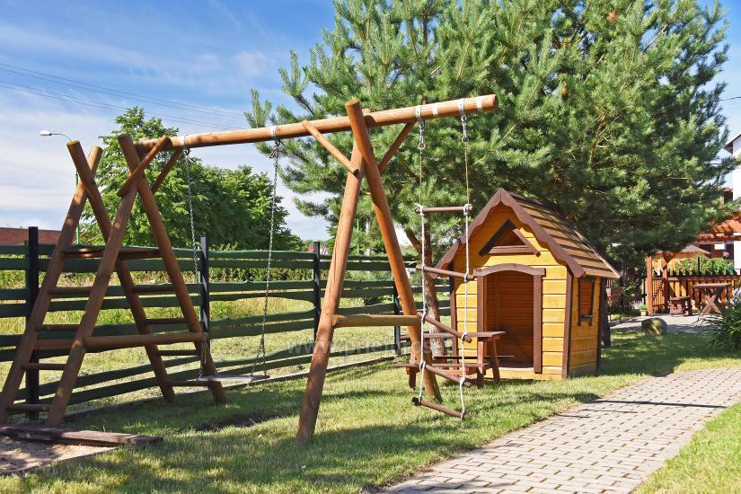 Pokoje i domki nad morzem w Sventoji (Litwa) ZUVEDROS - 9