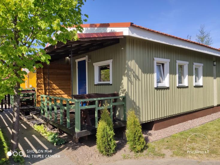 Pokoje i domki nad morzem w Sventoji (Litwa) ZUVEDROS - 1