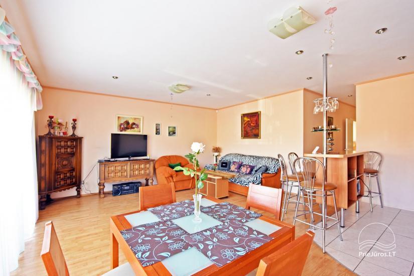Dwupokojowe mieszkanie w Połądze, na ulicy Valančiaus. Do 200 Lt/ za dobę - 7