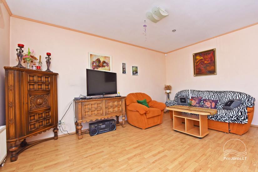Dwupokojowe mieszkanie w Połądze, na ulicy Valančiaus. Do 200 Lt/ za dobę - 8