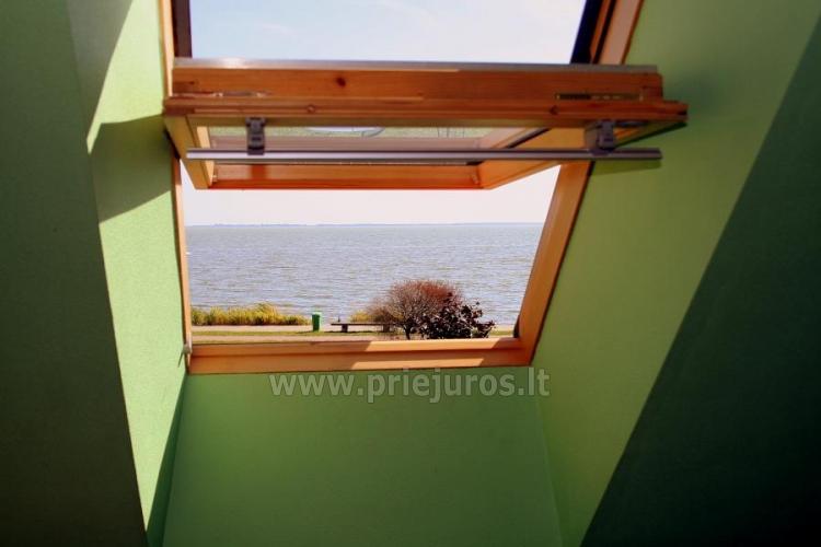 Pokoje i apartamenty z widokiem na lagunę do wynajęcia w Mierzei Kurońskiej - 9