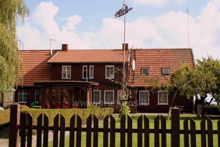 Pokoje i apartamenty z widokiem na lagunę do wynajęcia w Mierzei Kurońskiej - 4