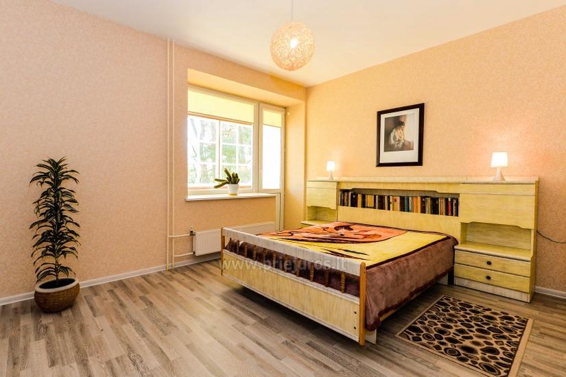 Przestronne dwa pokoje mieszkanie z balkonem w centrum Nidy - 9