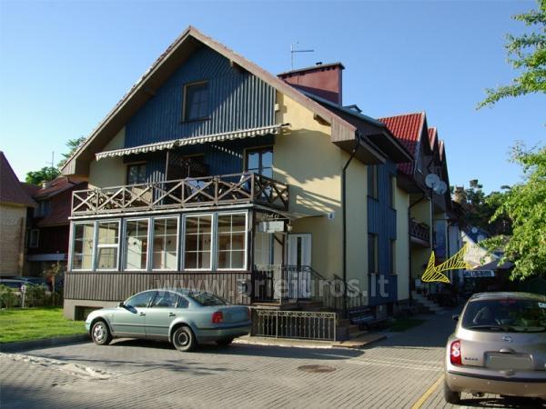 Dom goscinny w Nidzie Inkliuzas, Mierzeja Kuronska, Litwa - 2