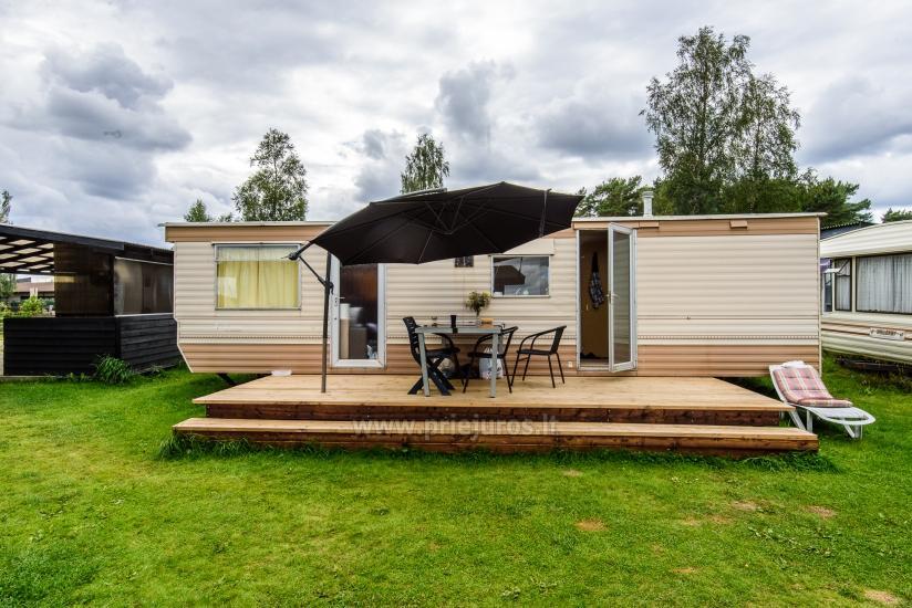Wakacje w Połądze - drewniane domki, pole namiotowe, namioty (Od 5 € / osoby dla grup) - 20