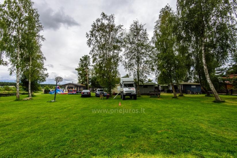Wakacje w Połądze - drewniane domki, pole namiotowe, namioty (Od 5 € / osoby dla grup) - 36