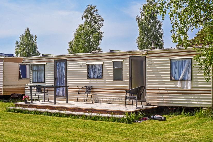 Wakacje w Połądze - drewniane domki, pole namiotowe, namioty (Od 5 € / osoby dla grup) - 28