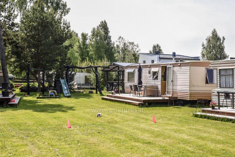 Wakacje w Połądze - drewniane domki, pole namiotowe, namioty (Od 5 € / osoby dla grup) - 21