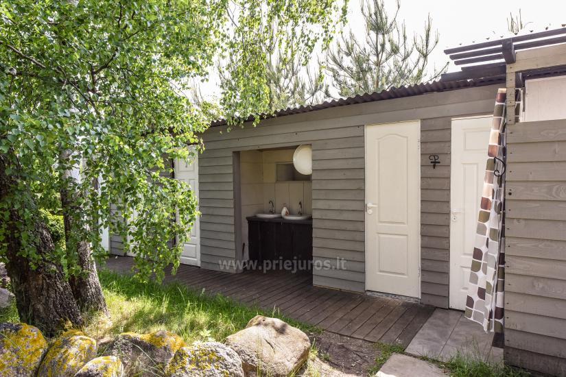 Wakacje w Połądze - drewniane domki, pole namiotowe, namioty (Od 5 € / osoby dla grup) - 15