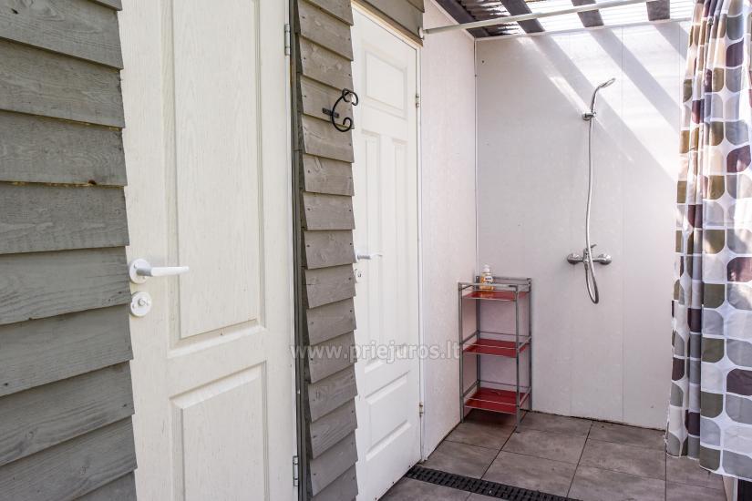 Wakacje w Połądze - drewniane domki, pole namiotowe, namioty (Od 5 € / osoby dla grup) - 16