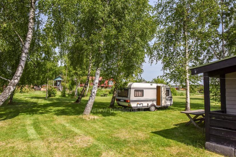 Wakacje w Połądze - drewniane domki, pole namiotowe, namioty (Od 5 € / osoby dla grup) - 37