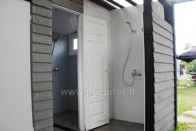 Wakacje w Połądze - drewniane domki, pole namiotowe, namioty (Od 5 € / osoby dla grup) - 18
