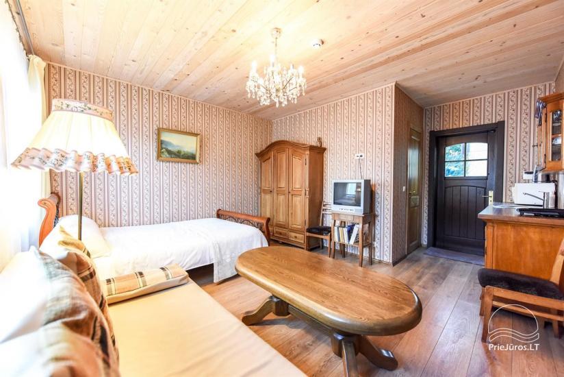 Wynajęcie apartamentów i pokoi w Połądze, tylko 200 m od morza! - 2