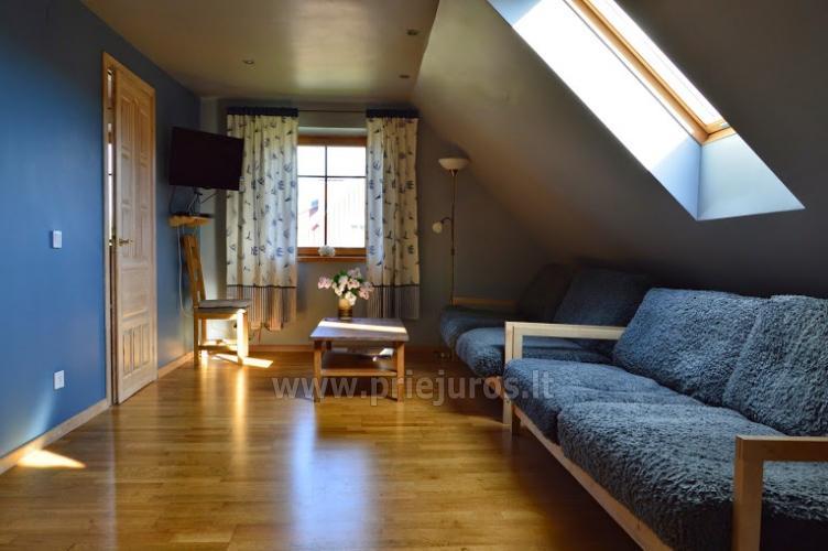 Domek z kominkiem, mieszkania do wynajęcia w Nidzie - 9