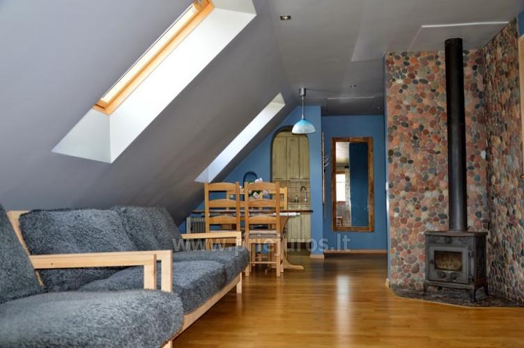 Domek z kominkiem, mieszkania do wynajęcia w Nidzie - 10