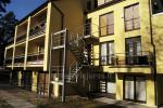 Apartamenty typu studio z balkonami na Mierzei Kurońskiej
