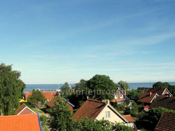 Mieszkanie w centrum Nidy z widokiem na Zalew - 2