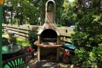 Pokoje z udogodnieniami w Połądze: podwórko, grill, huśtawki - 5