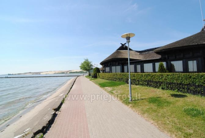 Podwójne apartamenty do wynajęcia w Nidzie z widokiem na lagunę - 9