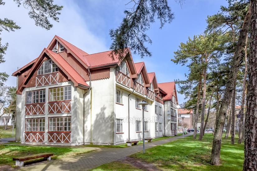 Przestronny 3-pokojowy apartament w Nidzie: w pobliżu Zalewu Kurońskiego i wydmy Parnidis - 1