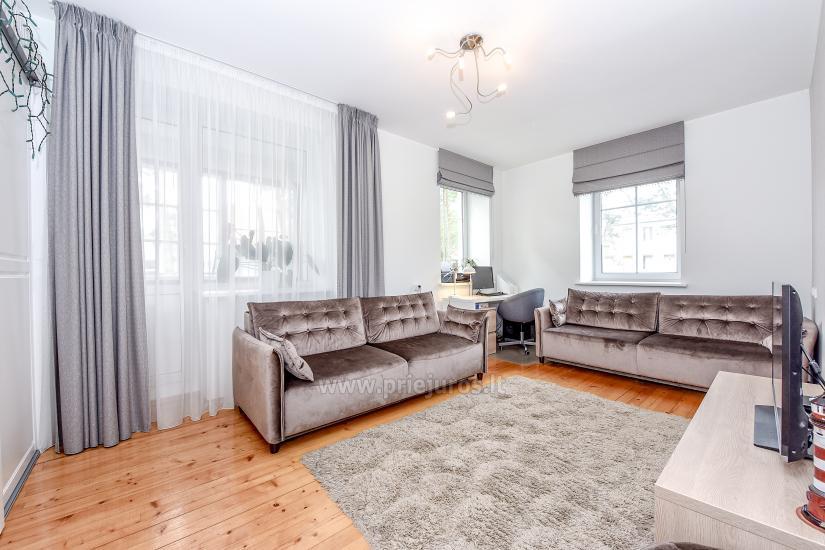 Przestronny 3-pokojowy apartament w Nidzie: w pobliżu Zalewu Kurońskiego i wydmy Parnidis - 8