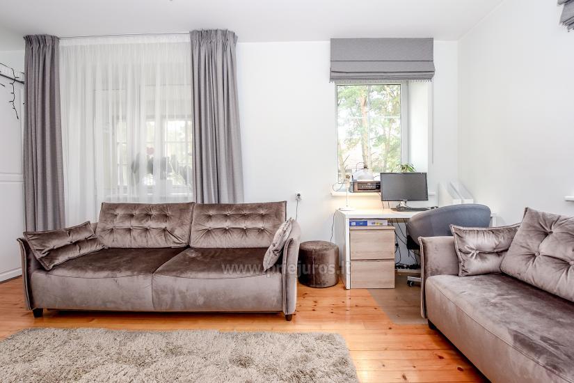 Przestronny 3-pokojowy apartament w Nidzie: w pobliżu Zalewu Kurońskiego i wydmy Parnidis - 9