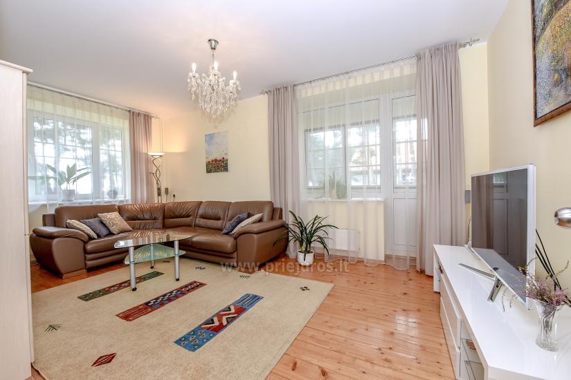 Przestronny 3-pokojowy apartament w Nidzie: w pobliżu Zalewu Kurońskiego i wydmy Parnidis - 4