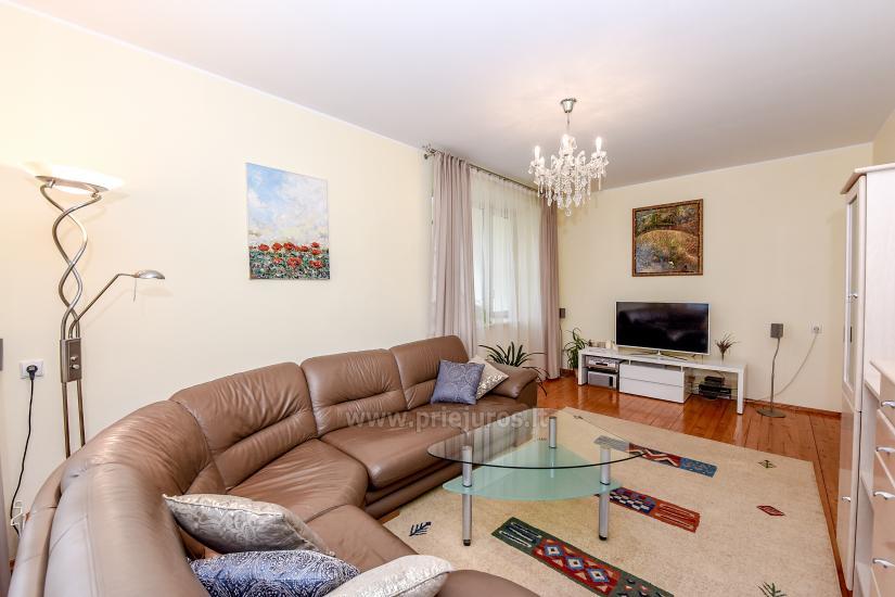 Przestronny 3-pokojowy apartament w Nidzie: w pobliżu Zalewu Kurońskiego i wydmy Parnidis - 5
