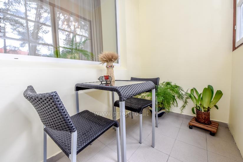 Przestronny 3-pokojowy apartament w Nidzie: w pobliżu Zalewu Kurońskiego i wydmy Parnidis - 7