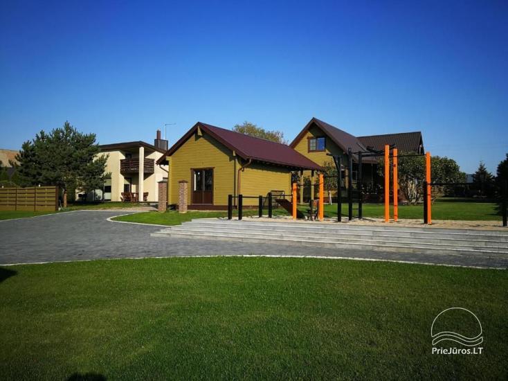 """NOWE bungalowy z tarasami w Połądze """"BAURE"""" - 6"""