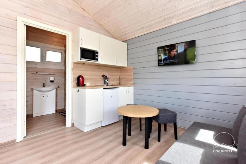 """NOWE bungalowy z tarasami w Połądze """"BAURE"""" - 7"""