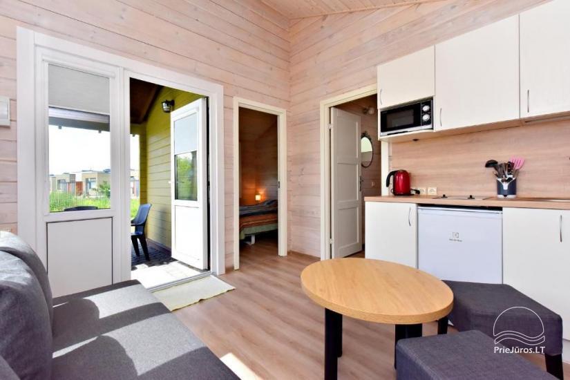 """NOWE bungalowy z tarasami w Połądze """"BAURE"""" - 8"""