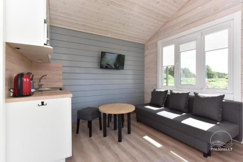 """NOWE bungalowy z tarasami w Połądze """"BAURE"""" - 9"""