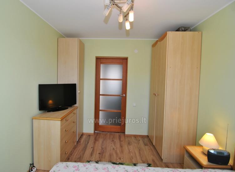 Dwa pokoje mieszkanie w centrum Nidy z dużym balkonem, 2 telewizory - 6