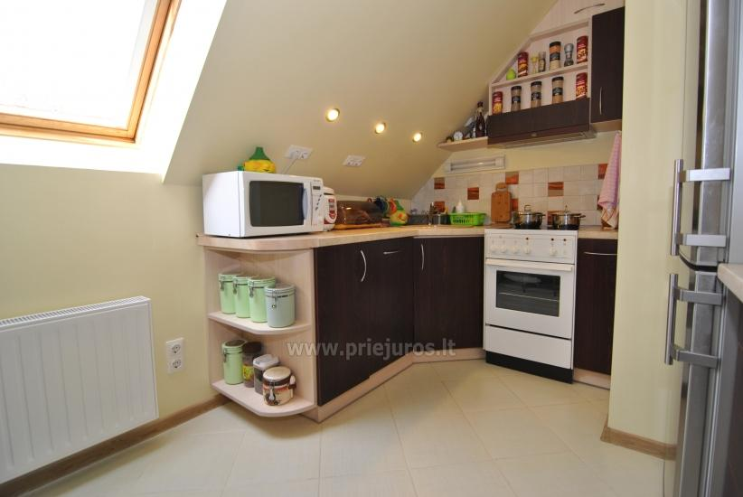 Dwa pokoje mieszkanie w centrum Nidy z dużym balkonem, 2 telewizory - 8