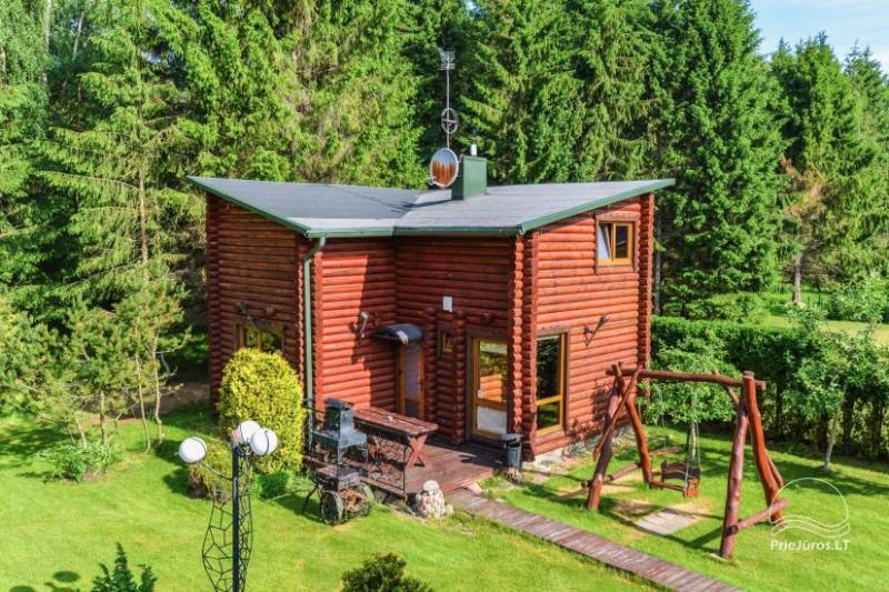 Willa z sauna, apartament i domek do wynajęcia w Połądze EIMIO villa