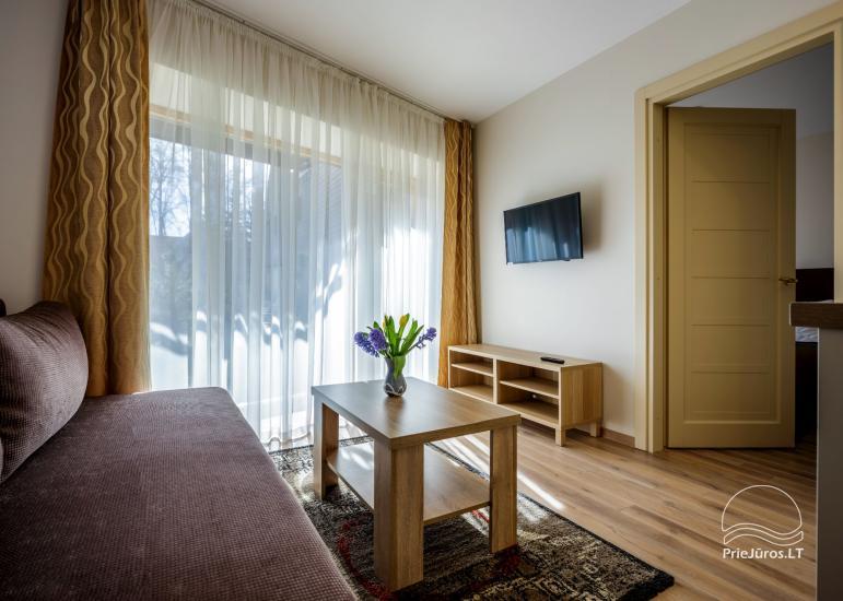 Apartamenty, domek w Połądze Willa Elegancija - 10