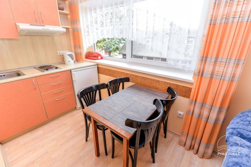 1-2 pokojowe mieszkania w Pervalka, Mierzeja Kurońska - 9