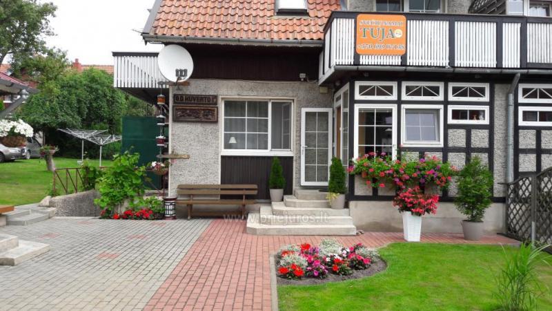Cozy Ilony pensjonat Tuja w centrum Nidy, Mierzeja Kurońska
