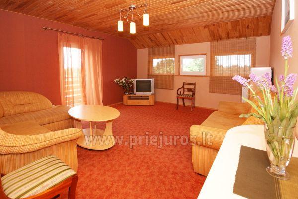 Dom Goscinny w Sventoji Osia - Pokoje, apartamenty 150 m wydmy! - 22