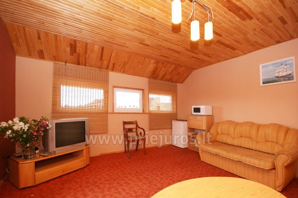Dom Goscinny w Sventoji Osia - Pokoje, apartamenty 150 m wydmy! - 23