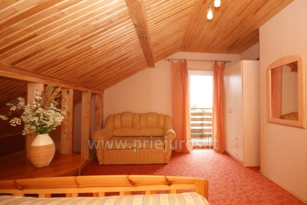 Dom Goscinny w Sventoji Osia - Pokoje, apartamenty 150 m wydmy! - 25