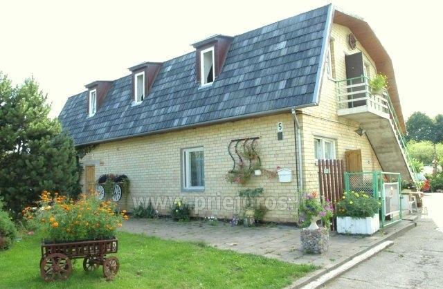 Pensjonat i nowe, przytulne domki w centrum Sventoji