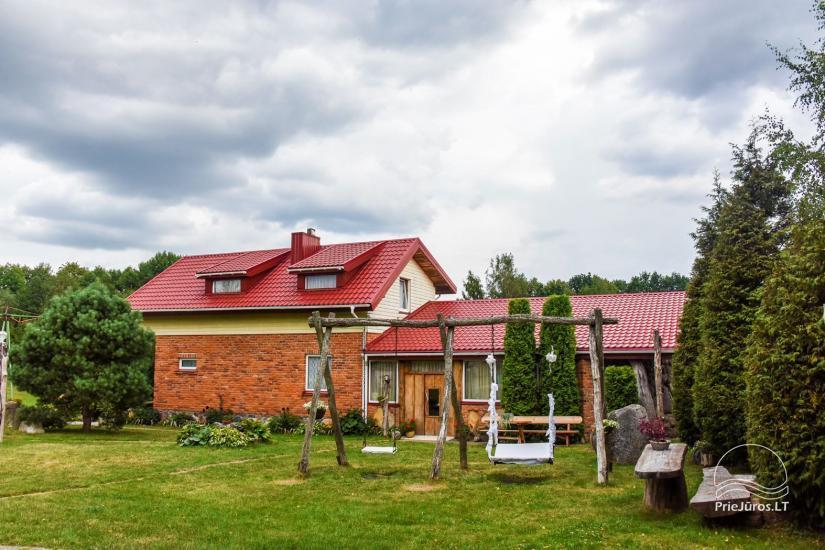 Wille, sauna, hala wynajem 10 km od Kłajpedy, w pobliżu minizoo, Jonušas - 3