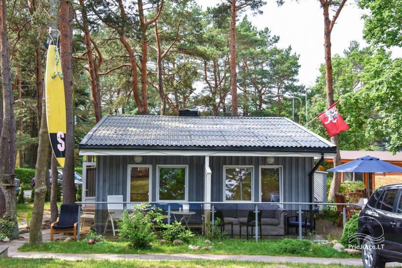 Domki Undinele w Sventoji 150 m do morza - 17