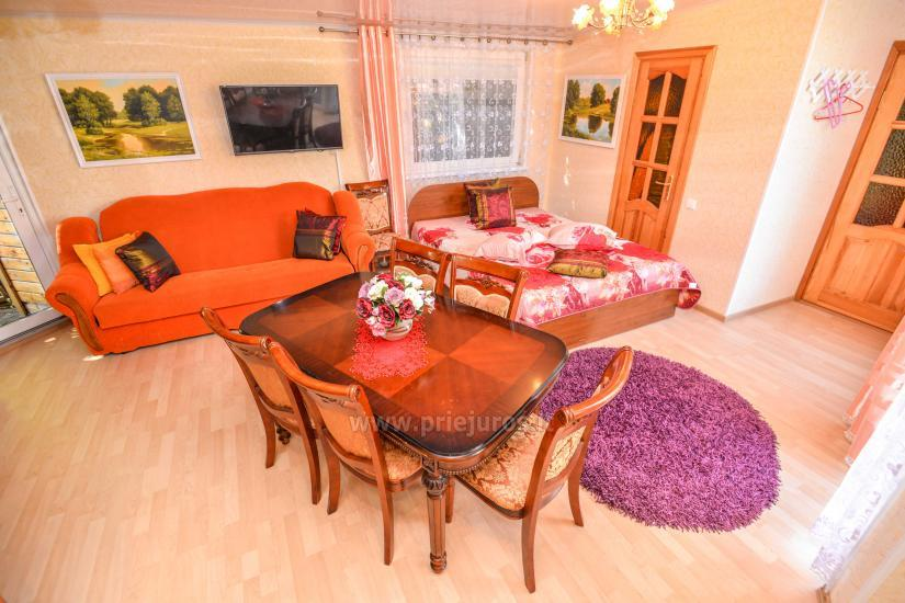 Apartamenty i pokoje do wynajęcia w Połądze, centrum miasta - 4