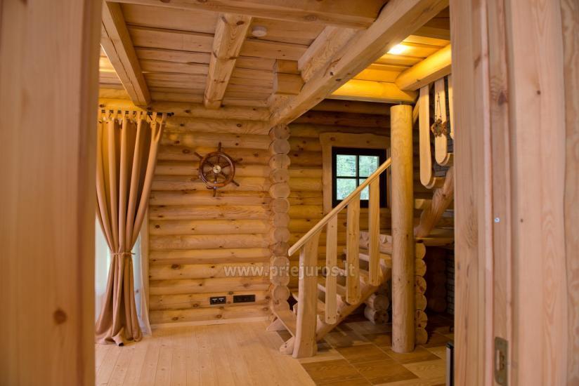 Wille drewniane do wynajęcia w Połądze - Atostogu parkas - 4