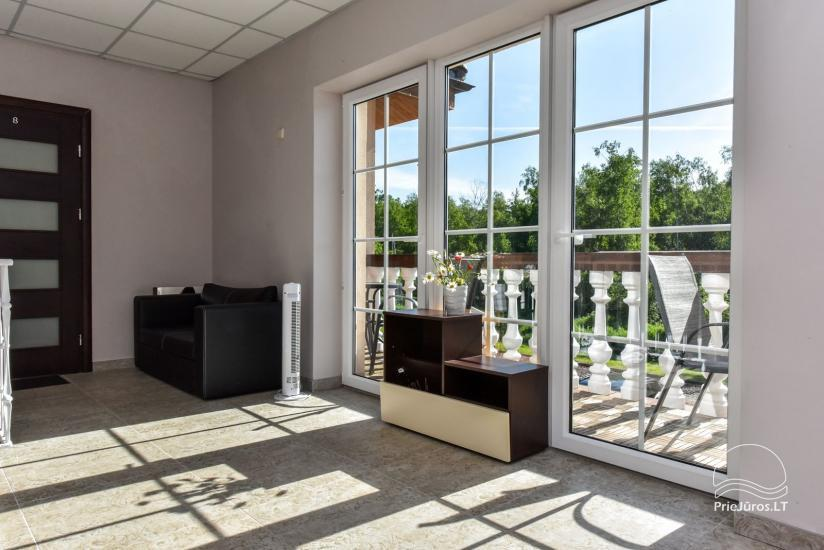 """Nowe domek, apartamenty i pokoje z kuchniami i tarasami w Połądze - willa """"OPTIMISTAS"""" - 18"""